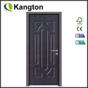 New Product Interior MDF Wooden PVC Door (PVC wooden door) pictures & photos