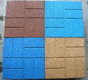 Top-Brick EPDM Rubber Tile for Sidewalks / Carpet (A-DJ-34) pictures & photos
