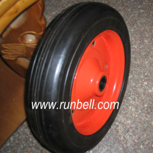 Heavy Duty Solid Rubber Wheels for Hand Trolley