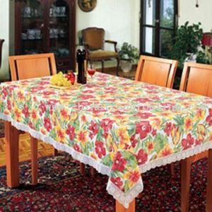 Quality PVC Table Cloth/Cover (TC001) pictures & photos