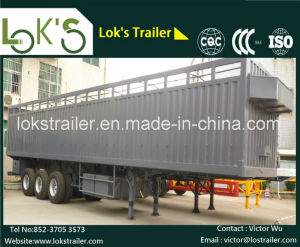 40 Feet 3axle Side Wall Semi Trailer pictures & photos
