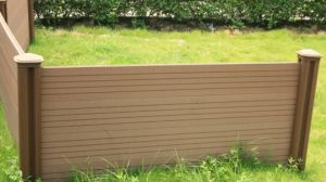 Wood-Plastic Composite Fencing for Garden