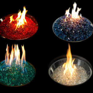 Reflective Glass Chippings Fire Pit pictures & photos
