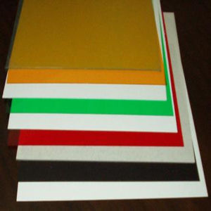 Colorful Impact Resistance Rigid PVC Sheet / Board pictures & photos
