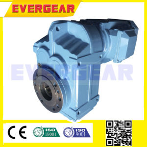 MTP Series Parallel Shaft Mounted Helical Low Ratio Gear Box Motor Reducer pictures & photos