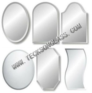 High Quality Different Shape Beveled Mirror with CE and ISO pictures & photos