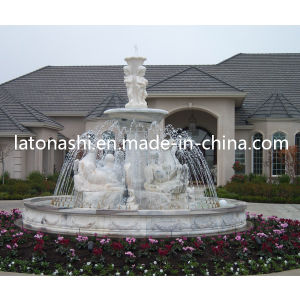 Design Granite Stone Carving Sculpture Water Fountain for Outdoor / Outside pictures & photos