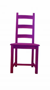 Fashion Colorful Natural Wood Dining Chair Backrest Stool pictures & photos