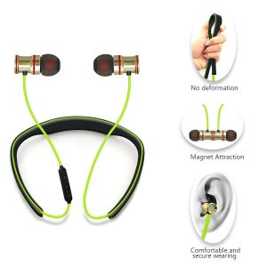 4.0 Bluetooth Sports Earbuds Wireless Neckband Headset pictures & photos