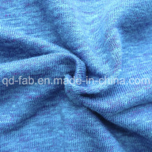 Linen/Poly Knitting T-Shirt Jersey (QF13-0456) pictures & photos