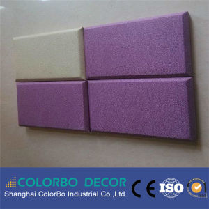 Sound Proof Wall Panel Cloth Fabric Acoustic Wall Panel pictures & photos