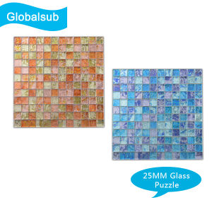 Sublimation Glass Puzzle of Heat Press Blanks Hot Sales