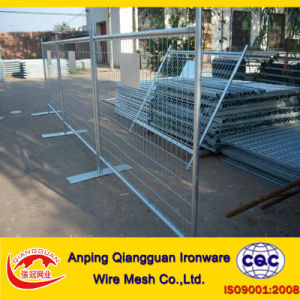 Temporary Fence / Mobile Fencing / Portable Fencing / Crowd Control Barrier (QG-TM)