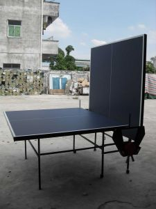 Double-Folding Table Tennis Table (TE-16) pictures & photos
