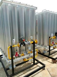 CNG Gas Devices/Industrial Gas Skid-Mounted Device pictures & photos