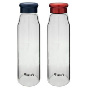 Portable Glass Water Bottle with Protective Bag 470ml pictures & photos