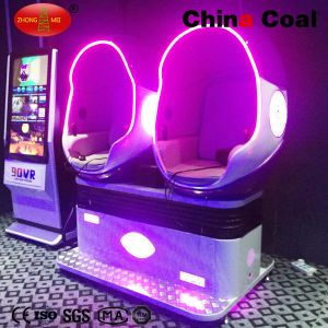 2 Seats 360 Degree Egg Vr 9d Cinema Simulator pictures & photos