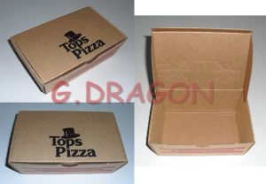 Locking Corners Pizza Box for Stability and Durability (CCB029) pictures & photos