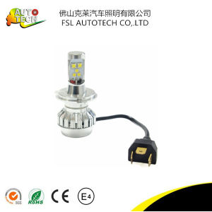 CREE 30W H4 12V P43t Auto LED Headlight pictures & photos