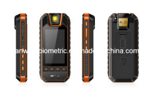 5 Inch Fingerprint Handheld Terminal with RFID Reader
