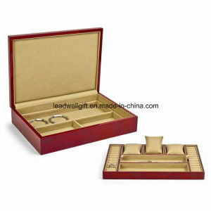 Blonde Burlwood High Gloss Finish Jewelry Gift Box pictures & photos