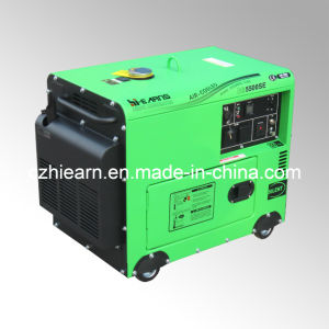 4kw Silent Generator with 9HP Diesel Engine (DG5500SE) pictures & photos