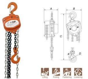 Manual Chain Block Vc-B Type pictures & photos