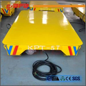 Material Handling Vehicle for Transporting Metal Piece on Rails (KPT-63T) pictures & photos