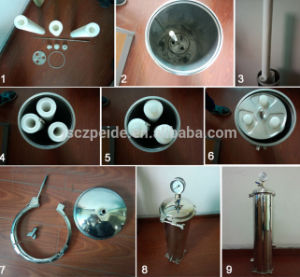 1 Micron Single Bag Stainless Steel Sea Water Filter System pictures & photos
