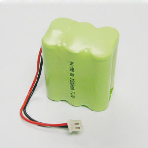 AA 7.2V 1500mAh NiMH Rechargeable Battery pictures & photos