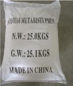 Sodium Metabisulfite Food Grade pictures & photos