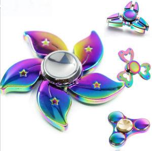 EDC New Metal Alloy Fidget Spinner Rainbow pictures & photos