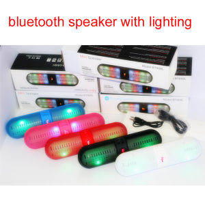 Portable Capsule Bluetooth Speaker with Disco Light (BT-808L) pictures & photos