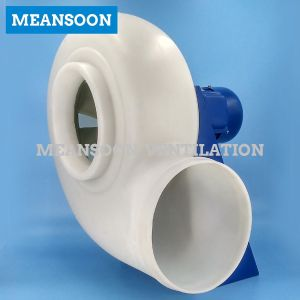Mpcf-2t300 Circular Plastic Corrosion Resistant Centrifugal Blower for Exhaust pictures & photos