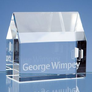 Beautiful 3D Laser Crystal Glass Cube Paperweight pictures & photos
