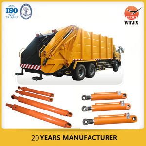 Quality Assured Piston Type Garbage Compactor Hydraulic Cylinder on Sale pictures & photos