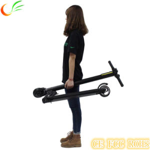 Folding 250W Electric Scooter with Lithium Battery, Light E-Scooter pictures & photos