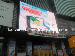 P16 Outdoor Full Color Advertising LED Display Screen pictures & photos