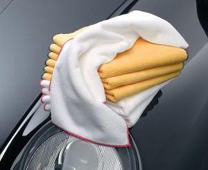 Microfiber Cloth 40X40cm pictures & photos