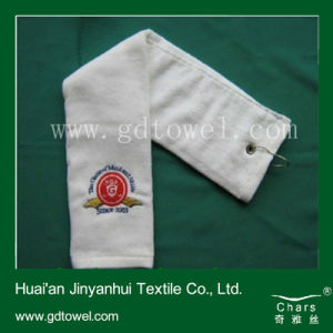 Hook Embroidery Golf Towel (DC-I01)
