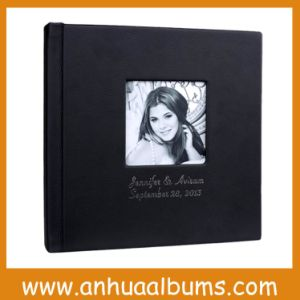Classic Top Grade Leather with Cameo and Imprinting for Custom Photo Album for Photographers