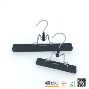 Black Extension Hair Clamps Also Used for Pants Skirt Hangers pictures & photos