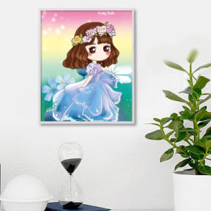 Factory Direct Wholesale Home Decoration Wall Art Children DIY Crystal Sticker K-030 pictures & photos