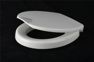 White Easy Clean Raised Toilet Seat for Disabled People pictures & photos