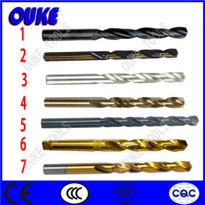 Straight Shank Titanium Coated HSS Twist Drill Bits pictures & photos