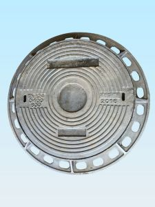 En124 D400 Heavy Duty--Square Frame Round Cover Manhole for pictures & photos