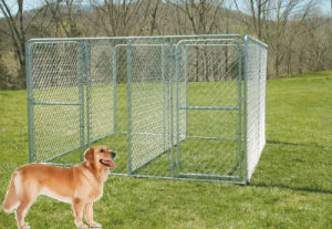 The 6 Ft High Modular Dog Kennel pictures & photos