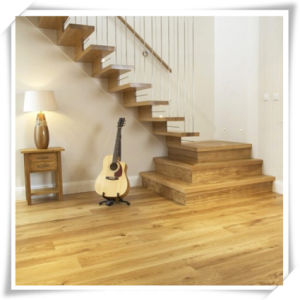 Engineered Multi - Layer 190-220mm Wide Plank Grey Oak Timber Flooring pictures & photos