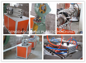 PVC Construction Profile Beads Extruder Making Machine pictures & photos
