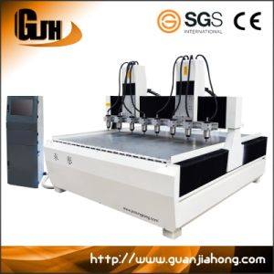 Multi-Spindle, Wood, Aluminum, Soft Metal CNC Router pictures & photos